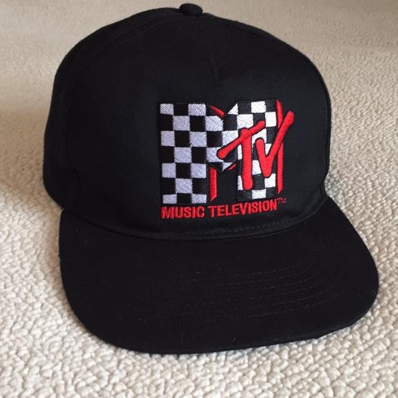 cb345989fff Men s Mtv (Music Television) snapback baseball cap